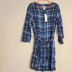 NWT Gap Kids Plaid Dress, 8/9